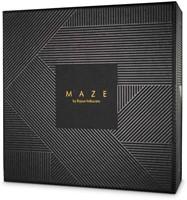 MAZE - Suspender Belt for Underwear & Stockings Black-3