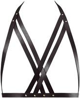 MAZE - Halter Bra Harness Black-2