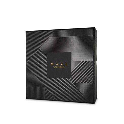 MAZE - Halter Bra Harness Black-3
