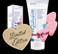 AQUAglide Love Bundle (200 ml + 3 Soft Tampons)