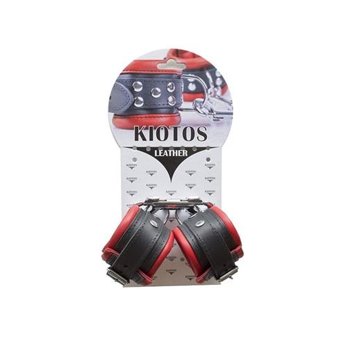 Kiotos - Handcuffs 5 cm - Red