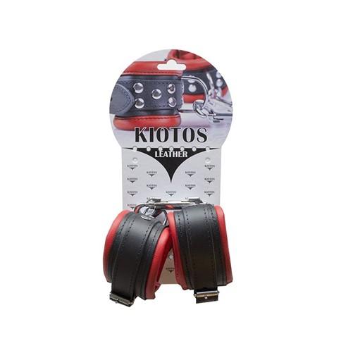 Kiotos - Anklecuffs 5 cm - Red