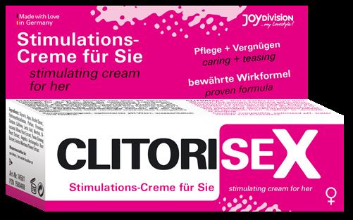 CLITORISEX - Stimulations-Creme, 40 ml