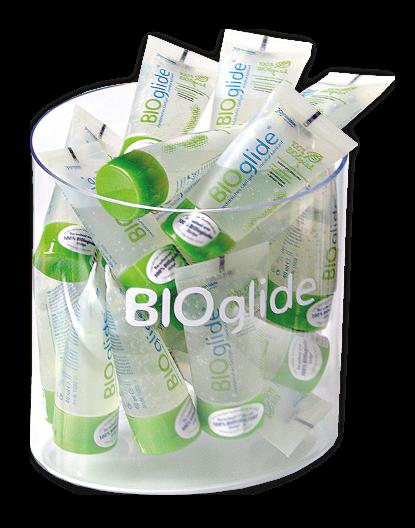 BIOglide Bundle (50 pcs. tubes 40 ml + acryl chute)