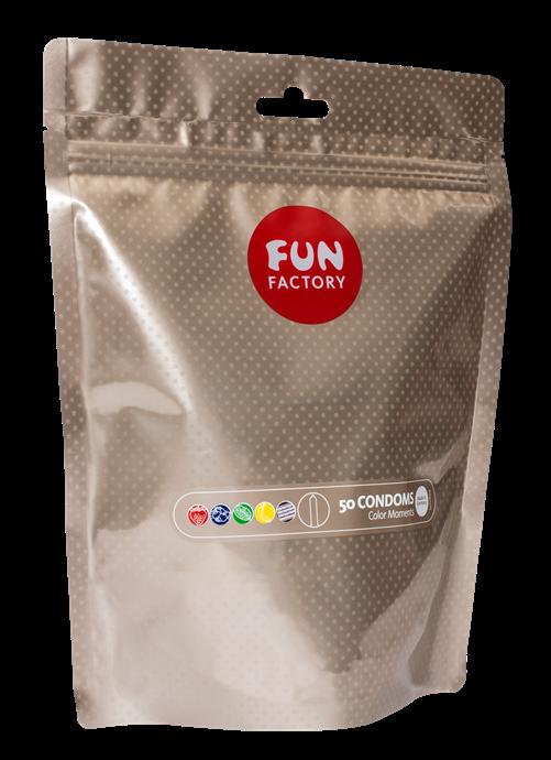 Condoms Color Moments 50 pieces