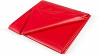Feucht-Spielwiese Bed sheet red, 180 x 260 cm