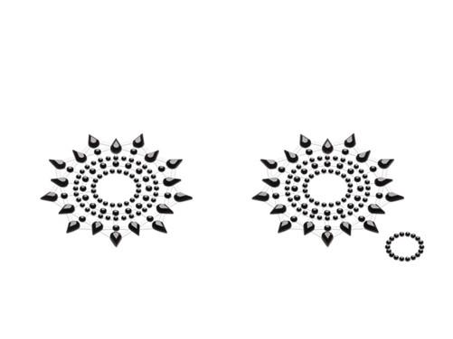 Petits JouJoux Gloria breast jewelry (set of 2), black