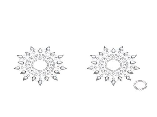 Petits JouJoux Gloria breast jewelry (set of 2), silver