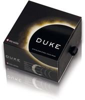 Mystim the Duke - edged Cock Ring, 55 mm, engraved-2