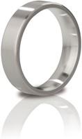 Mystim the Duke - edged Cock Ring, 48 mm, brushed