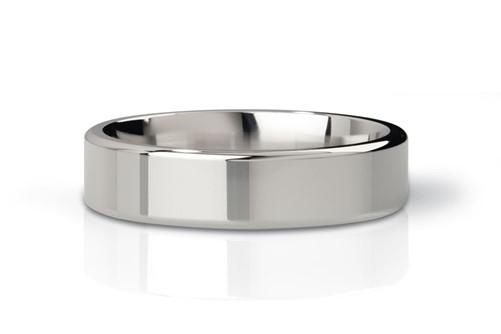 Mystim the Duke - edged Cock Ring, 55 mm, polished-2