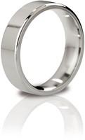 Mystim the Duke - edged Cock Ring, 51 mm, polished