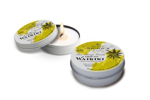 Petits JouJoux - a Trip to Waikiki - Candle tin