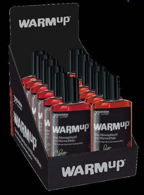 WARMup Display (6 x Strawberry, 6 x Cherry), 150ml
