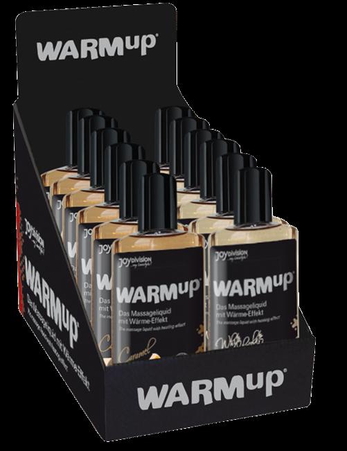 WARMup Display (6 x Caramel, 6 x White Chocolate), 150 ml