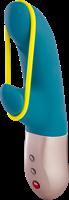 AMORINO, petrol/ neon yellow