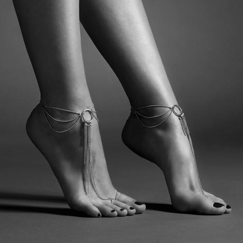 Magnifique - feet chains Gold