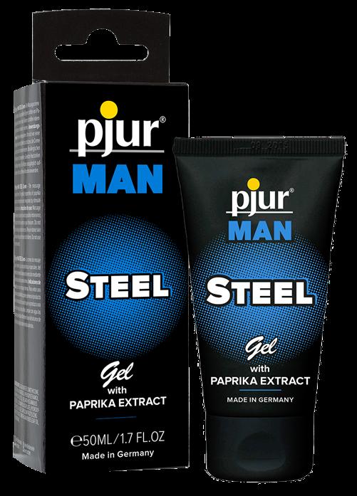 Pjur® Man Steel Gel, tube, 50ml