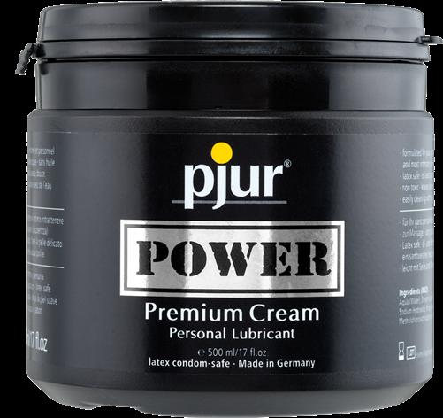 Pjur® Power Premium Cream, Pot, 500ml