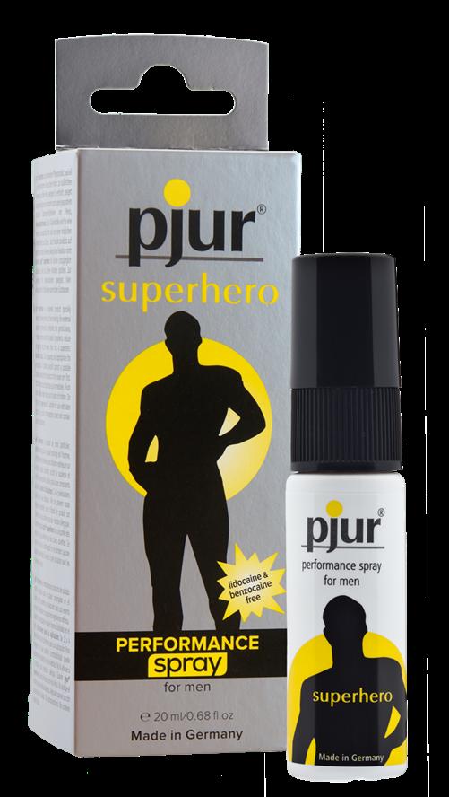 Pjur® Superhero performance spray, bottle, 20ml