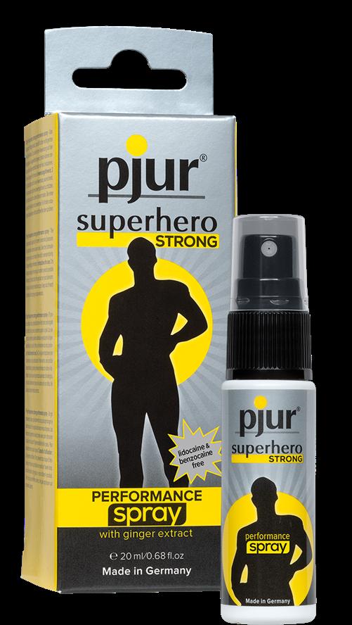 Pjur® Superhero Strong performance spray. bottle, 20ml