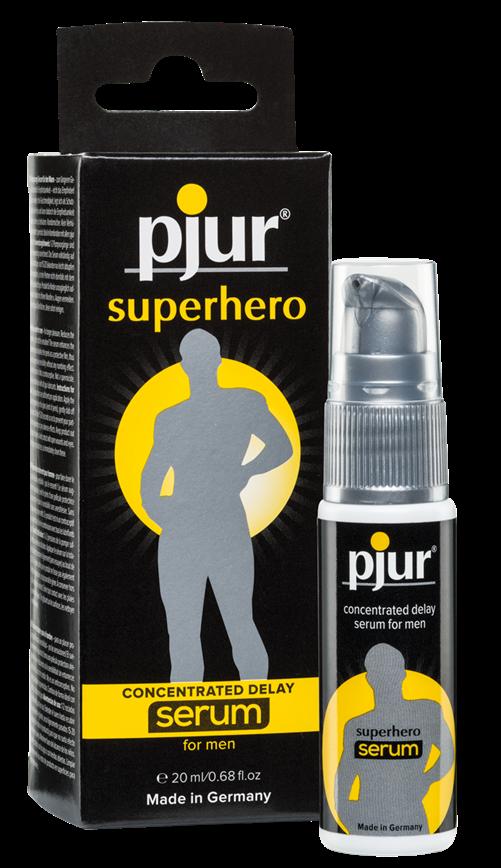 Pjur® Superhero Delay serum, bottle, 20ml