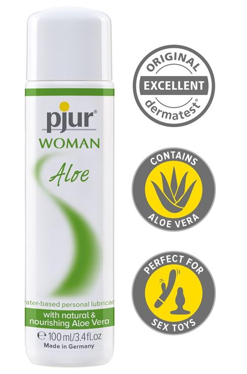 Pjur ® Woman Aloe waterbased, bottle, 100ml