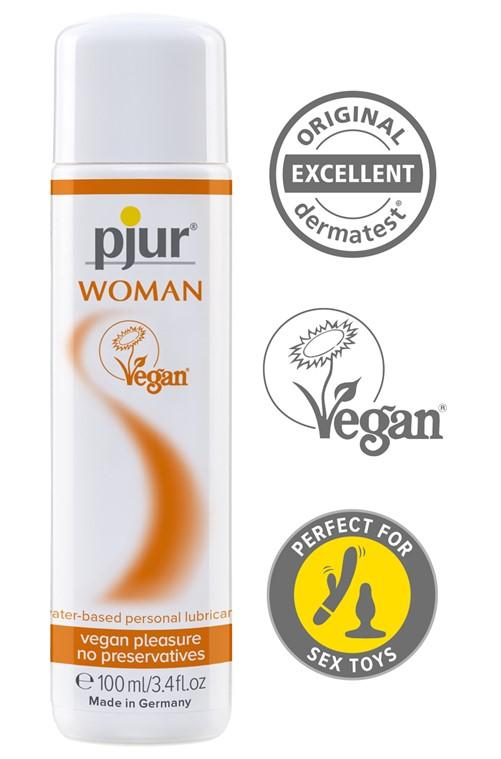 Pjur®  Woman Vegan waterbased, bottle, 100ml